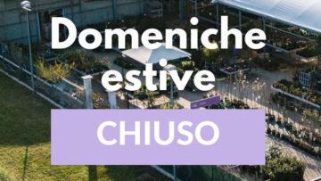 Domeniche estive CHIUSO